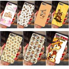 Para Apple iPhone 4 4S 5 5S SE 6 6 S 7 8 Plus X XS X Max XR patrón suave caso de teléfono de dibujos animados lindo Chip y Dale(China)