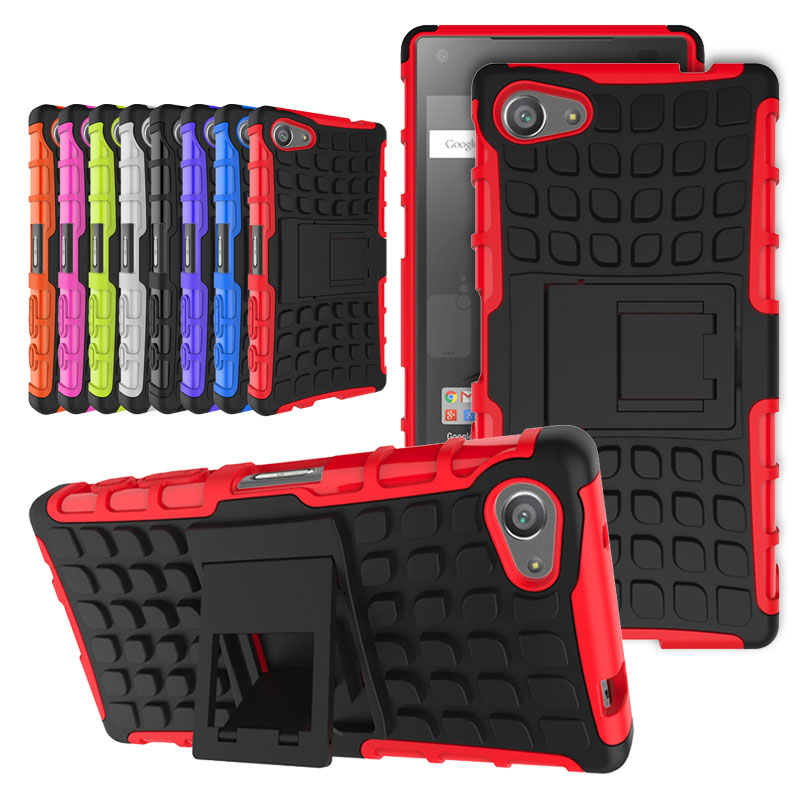 Funda For <font><b>Sony</b></font> <font><b>Xperia</b></font> <font><b>Z2</b></font> Z3 Z5 Compact Coque <font><b>Case</b></font> Armor Shockproof Cover <font><b>Cases</b></font> For <font><b>Sony</b></font> <font><b>Xperia</b></font> Z5 Mini <font><b>Case</b></font> <font><b>Protective</b></font> Phone image