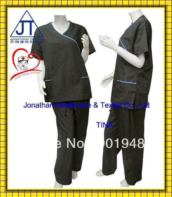 various colors new fashionable medical scrub suit uniforms