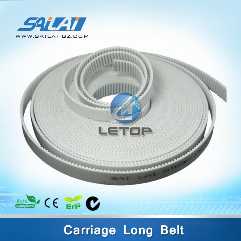 Hot sales!! inkjet printer megadyne belt 10-T5-7900 x axis 9 meters 16 9 xl 9000 timing megadyne belt for gongzheng wit color inkjet printers