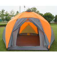 Tourist Tents Weatherproof Large Camping Tent For Family Holiday 8 10 Person Camping Tent Double Layer