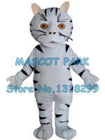 white cat mascot costume adult size custom cartoon character cosply carnival costume 3270