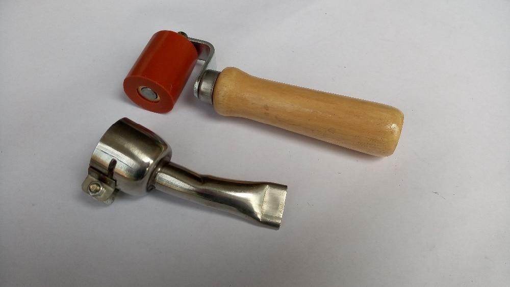 20mm flat welding nozzles+ 40mm rollers for plastic welder hot air gun [randomtext category=