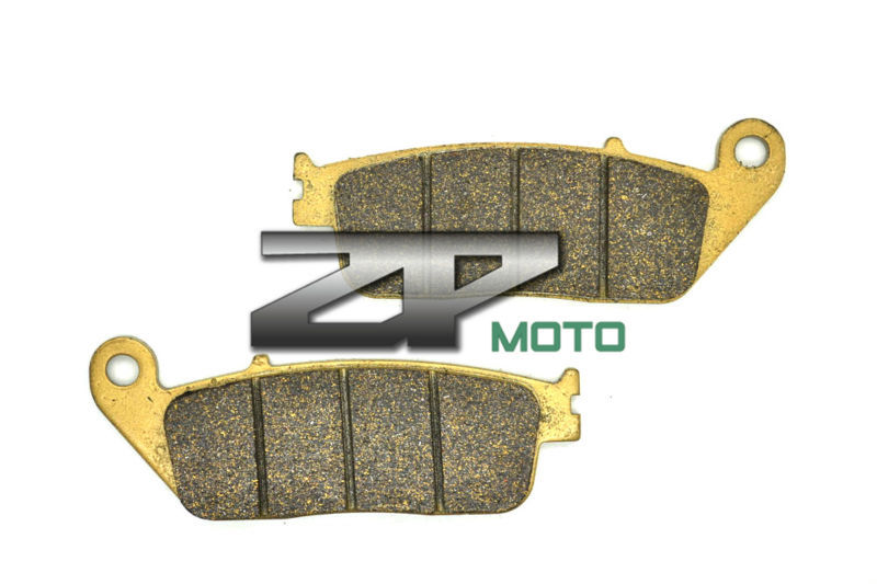 Organic Kevlar Brake Pads For Front TRIUMPH Tiger 800 (Cast Wheels) 2011-2014 12 13 Brand New High Quality organic kevlar brake pads for kawasaki atv kxt250 b2 tecate 87 klf 300 bayou 88 04 front kxt 250 tecate 85 86 front