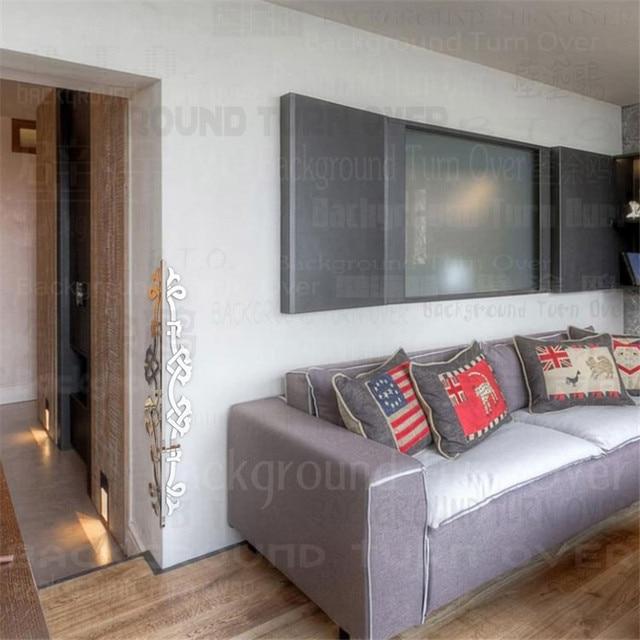 42pcs/set Acrylic Edge Corner Guards Mirrored Decorative Sticker 3D Wall Decor Home Appliances Wall Sticker C008