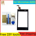 "Tools+Original New 4.0"" Touch Screen for Micromax A093 Glass Capacitive sensor for Micromax A093 Touch Screen panel Black"
