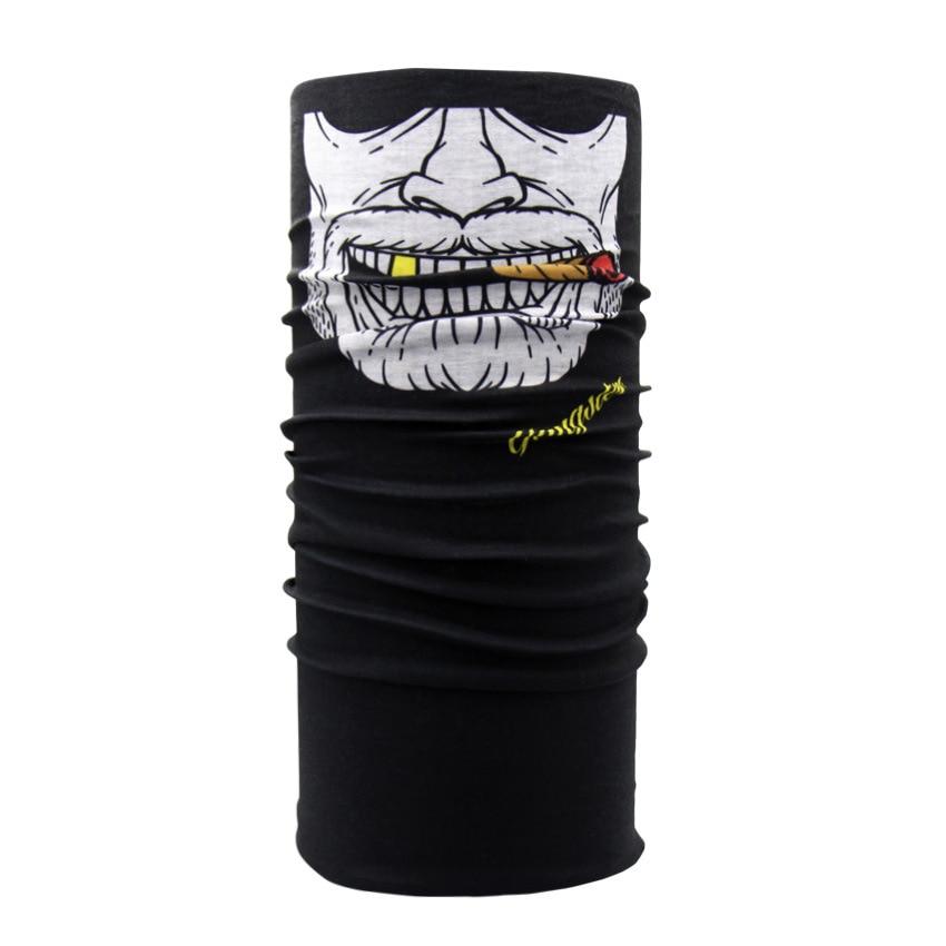 Pirate Scarf Buffe Luxury Brand Bandanas Hijab-Tube Neck-Gaiter Men Face-Shield Tactical-Mask