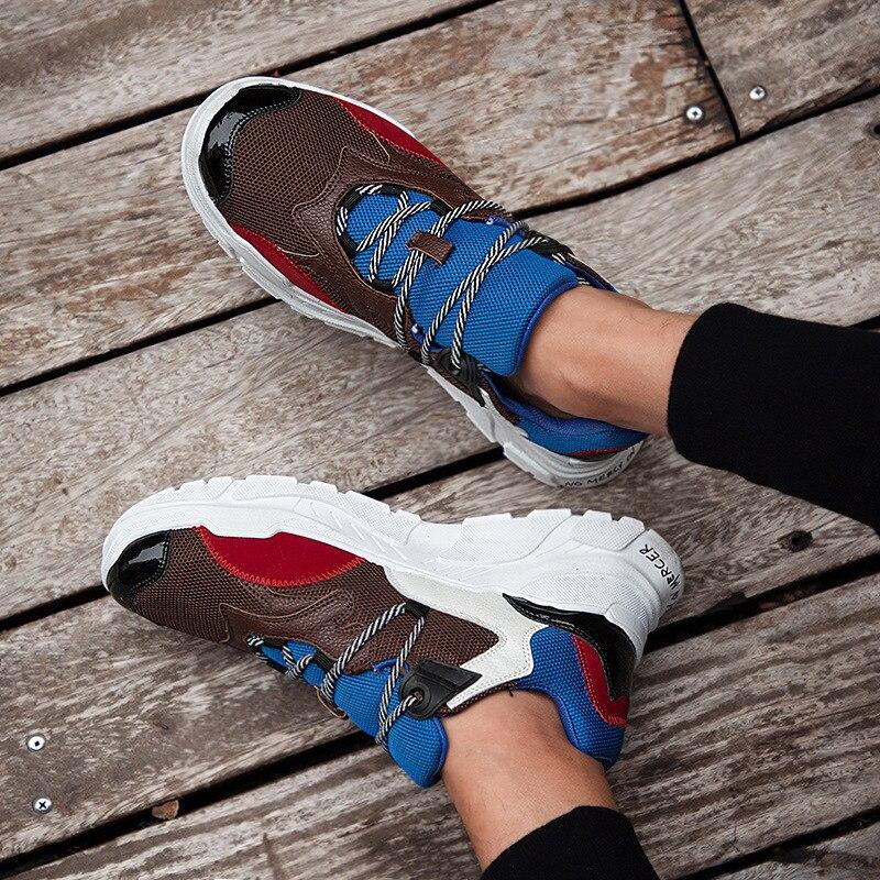 chocolat Non Lacets D'été Couleurs blanc Cuir Noir Sneakers en Chaussures Loisirs Pour À Décontractées Mélangées Designer Air Hommes Mesh gdUqTwZO