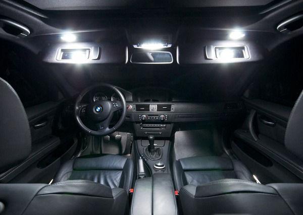 17x White Led Interior Lighting Kit For Bmw 5 Series E60 E61 528i