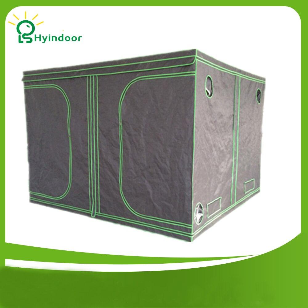 Hyindoor Garden Supplies Greenhouses 200*200*200(78*78*78'') Indoor Hydroponics Grow Box Tent Mylar Invernaderos kweektent