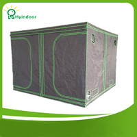 Hyindoor Garden Supplies Greenhouses 200*200*200(78*78*78'') Indoor Hydroponics Grow Box Tent Mylar Invernaderos kweektent