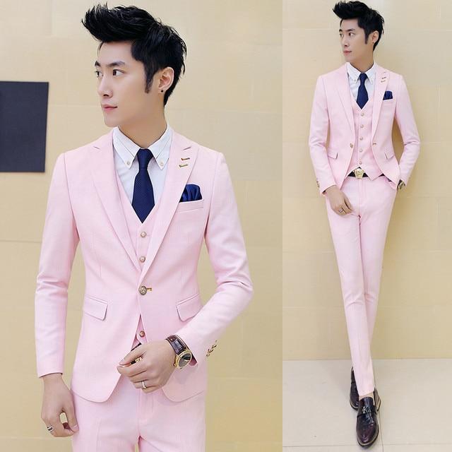 Aliexpress.com : Buy Bridegroom Suit 2016 New Brand Mens Suit ...