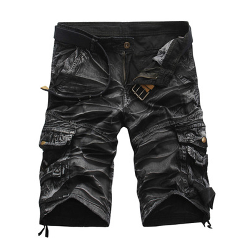 Hot Sale Cargo Shorts Men Cool Camouflage Casual Short Pants Summer Thin Shorts Joggers Sweatpants Cotton Brand Camo Shorts