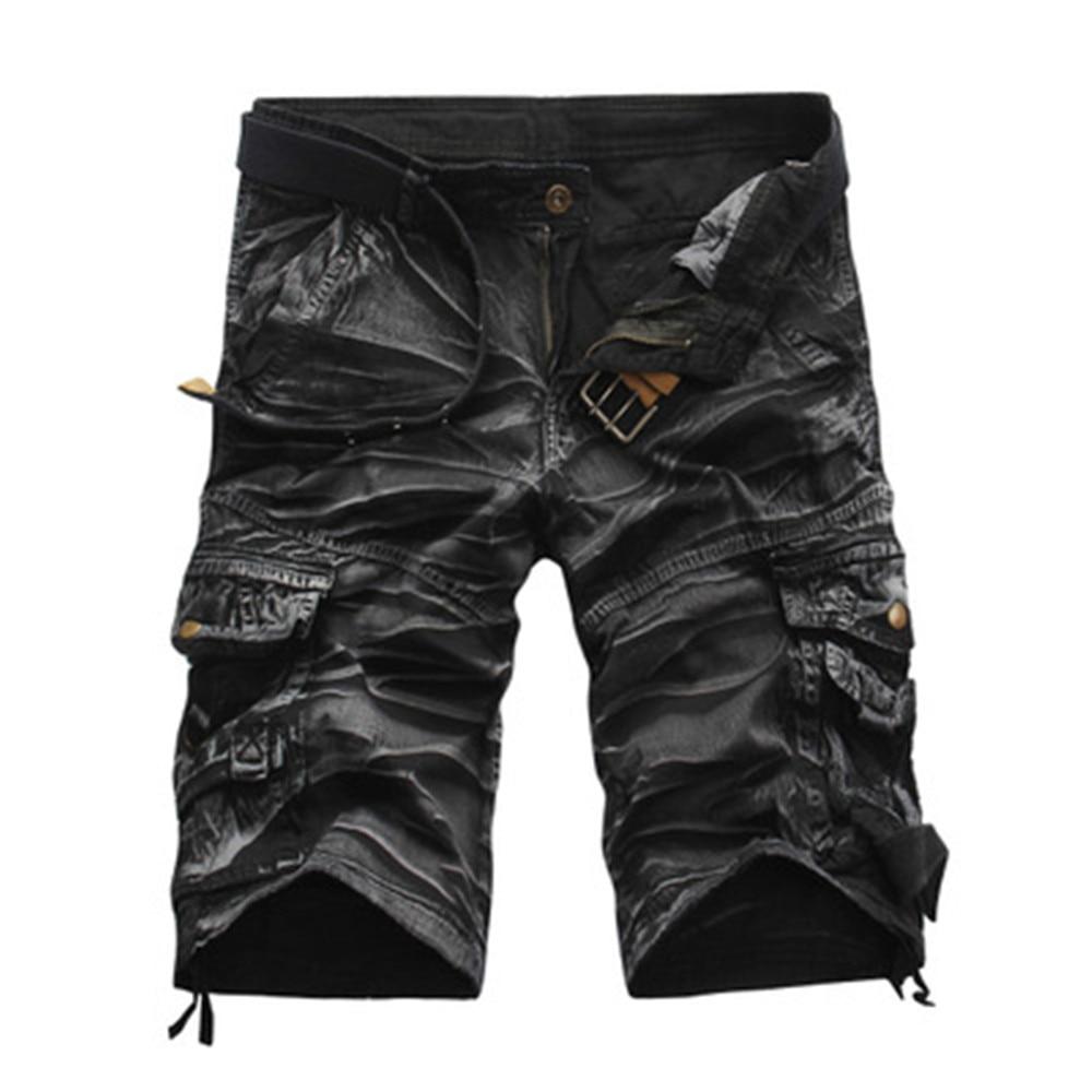 Hot Sale Cargo Shorts Men Cool Camouflage Casual Short Pants Summer Thin Shorts Joggers Sweatpants Cotton Brand Camo Shorts