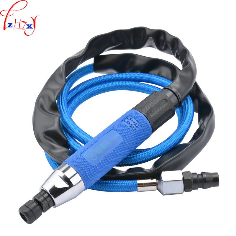 1pc Hand-held pneumatic engraving machine BD-1088 pen pneumatic sander 3mm/6mm pneumatic engraving machine handle type tube terminal special pressure line machine pneumatic cable pliers pneumatic hand held press 1pc