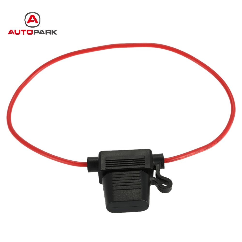 Hot Waterproof Wire In line mini Car Auto Automotive Blade Fuse ...