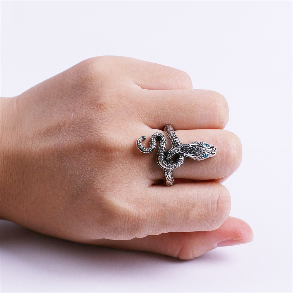Ring Dark Souls 3 Covetous Silver Serpent Metal Rings Cosplay Ring Accessories Woman Man Ring High Quality (7)