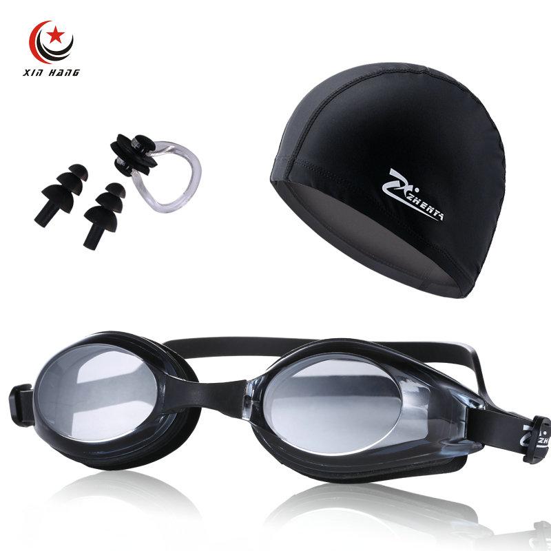 3 db Unisex női professzionális rövidlátás úszószemüveg PU - Sportruházat és sportolási kiegészítők