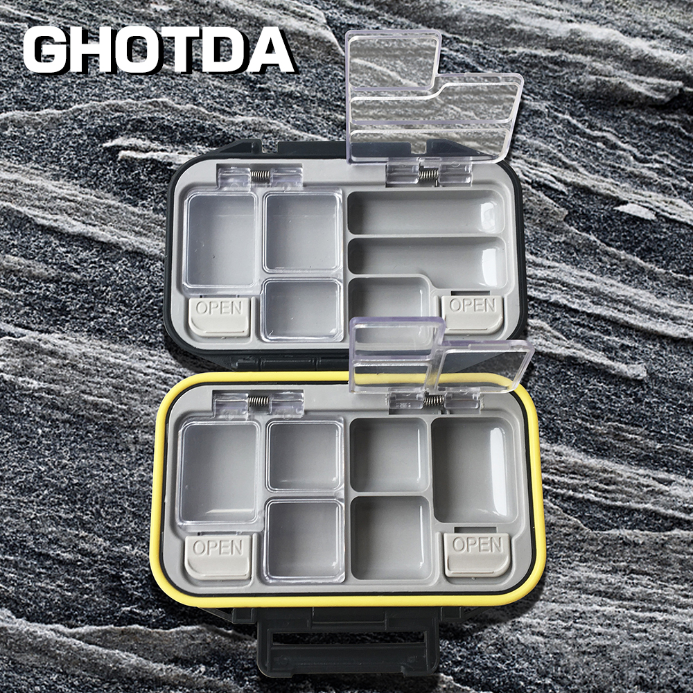 Multifunctional High Strength Plastic Fishing Lure Fishing Tackle box