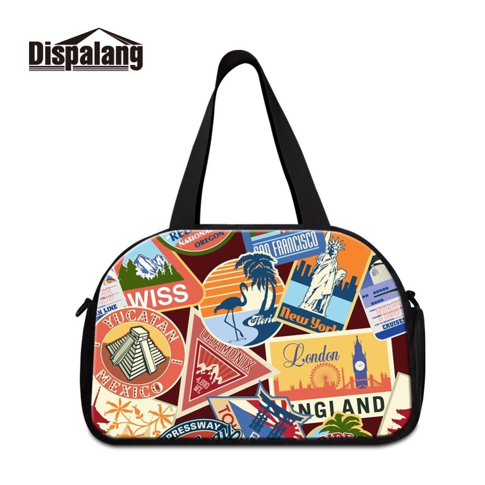 Custom Make Landscape Patterns Foldable Men Travel Bag New Big Capacity Clothes Duffel Bags Trip Luggage Handbag Drop Shipping