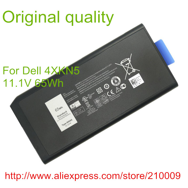 11.1V 65WH Original  laptop battery for 4XKN5 X8VWF XN4KN YGV51 453-BBBE E5404 E7404 jiazijia x8vwf laptop battery 11 1v 97wh for dell latitude 14 7404 latitude e5404 vcwgn ygv51 453 bbbe x8vwf