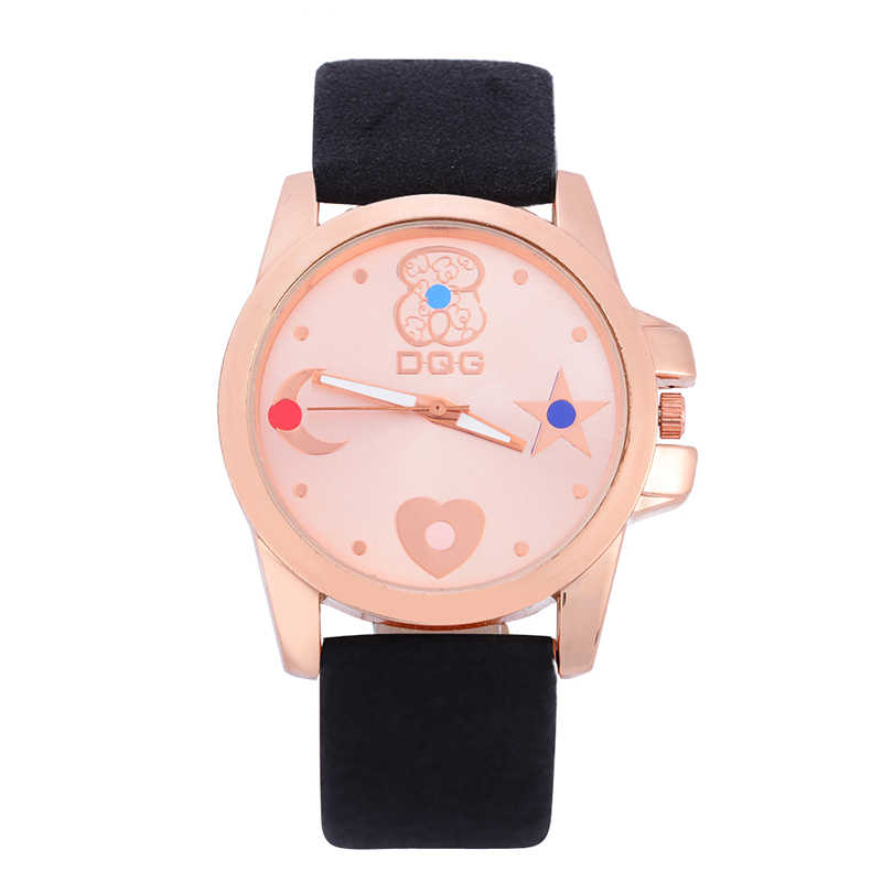 Luxury Brand 2019 New Creative Fashion Dress Watch Women Casual Leather Strap Quartz Watch Hot Female Clock Gifts For Women