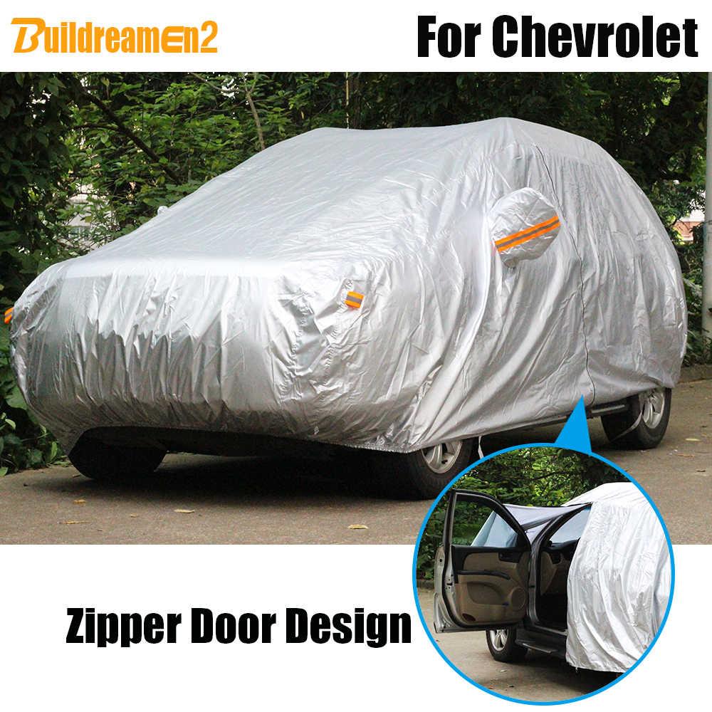 Buildreamen2 полное покрытие автомобиля Защита от солнца и дождя от снега водонепроницаемый чехол для Chevrolet Astro Sonic Corsicas Impala Equinox блейзер