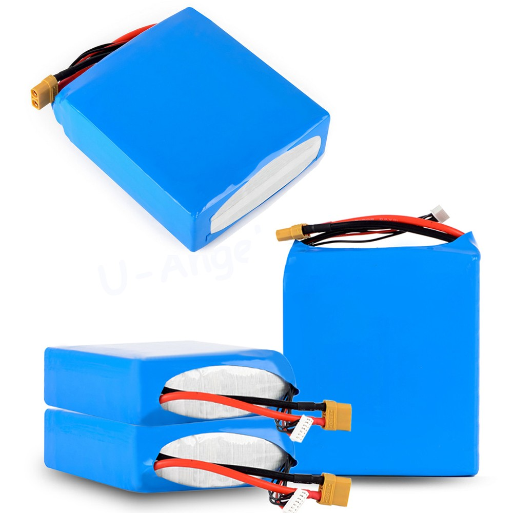 DHL Fedex shipping Lipo <font><b>Battery</b></font> 22.2V <font><b>16000MAh</b></font> 30C 6S1P Li-Po <font><b>Battery</b></font> XT90 Plug For RC Multicopter Octocopter FPV RC drone image