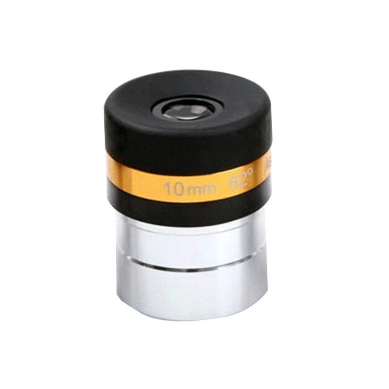 1.25 inches 31.7mm Astronomical telescope accessories 62 degrees wide-angle aspherical eyepiece 10mm  цены
