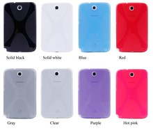 X Line Design Rubber Gel Silica Gel Cover TPU Case for Samsung Galaxy Note 8 0