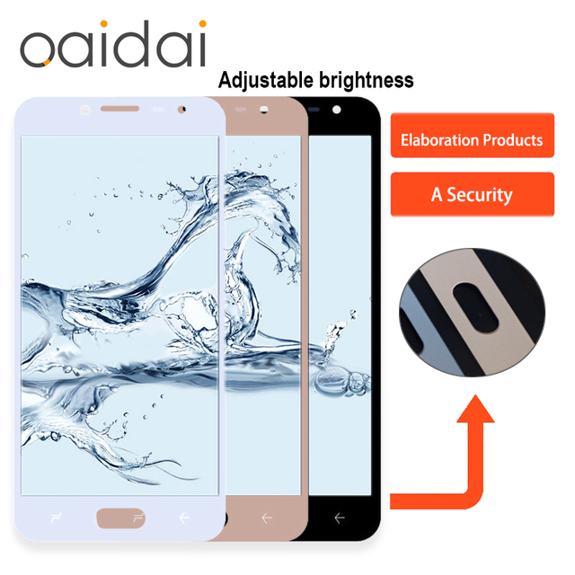 US $26 07  Adjustable Brightness LCD Display For Samsung Galaxy J2 pro 2018  J250 J250F J250H Touch Screen Digitizer Assembly Replacement-in Mobile