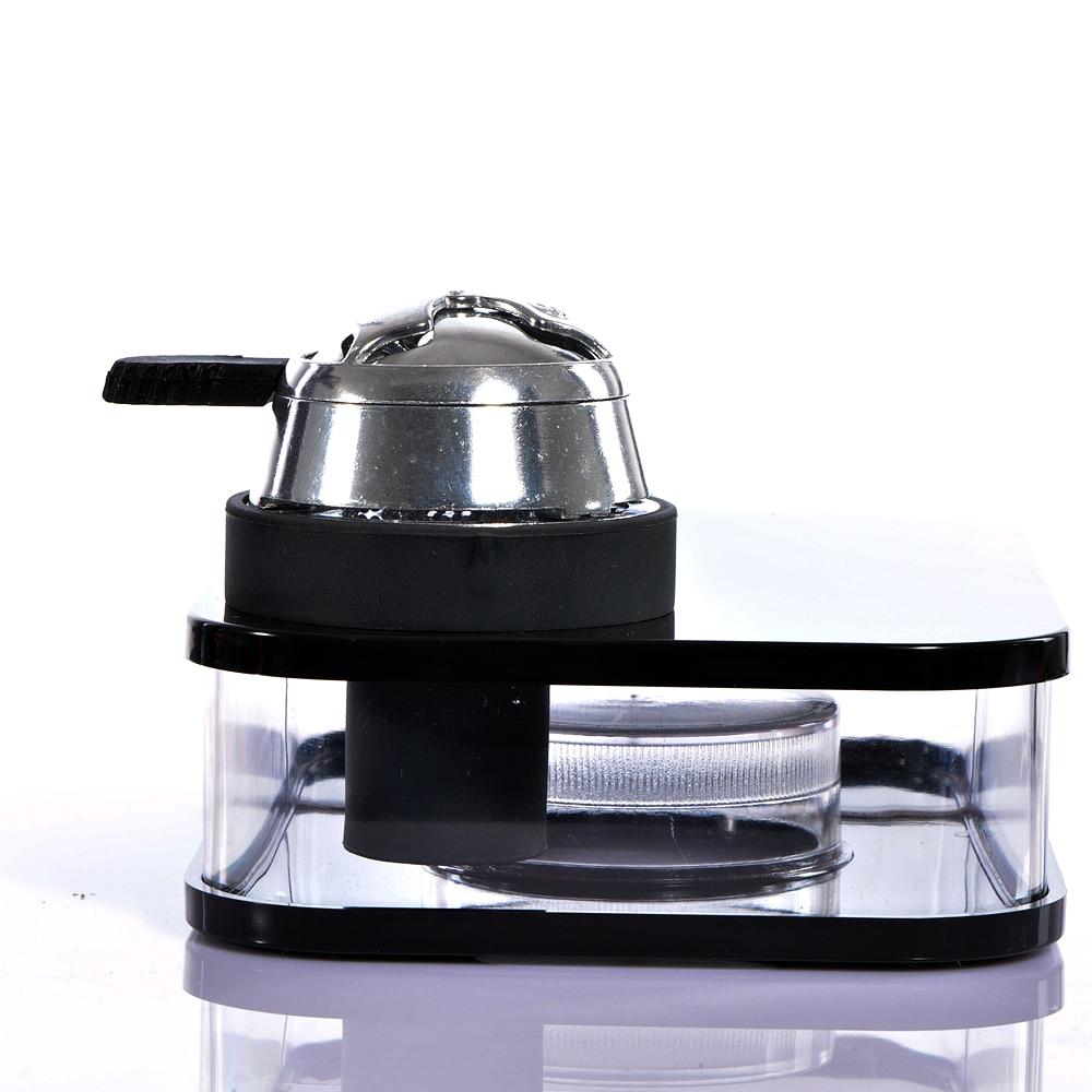 Schwarze Acryl Shisha Shisha mit LED-Licht Chicha Schüssel Schlauch - Haushaltswaren - Foto 2