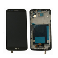 Original For LG G2 D802 LCD Display Touch Screen Digitizer Assembly With Frame Black And White