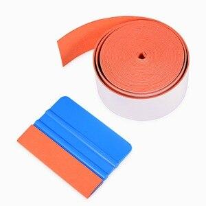 Image 5 - EHDIS 500CM No Scratch Suede Felt Cloth for All Card Squeegee Vinyl Car Wrap Tool Scraper Replacement Felt Edge Window Tint Tool