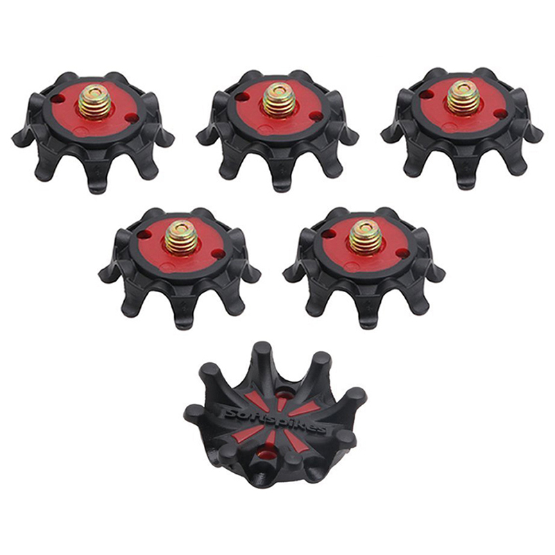 Soft Golf Shoe Spikes Metal Thread Studs Replacement