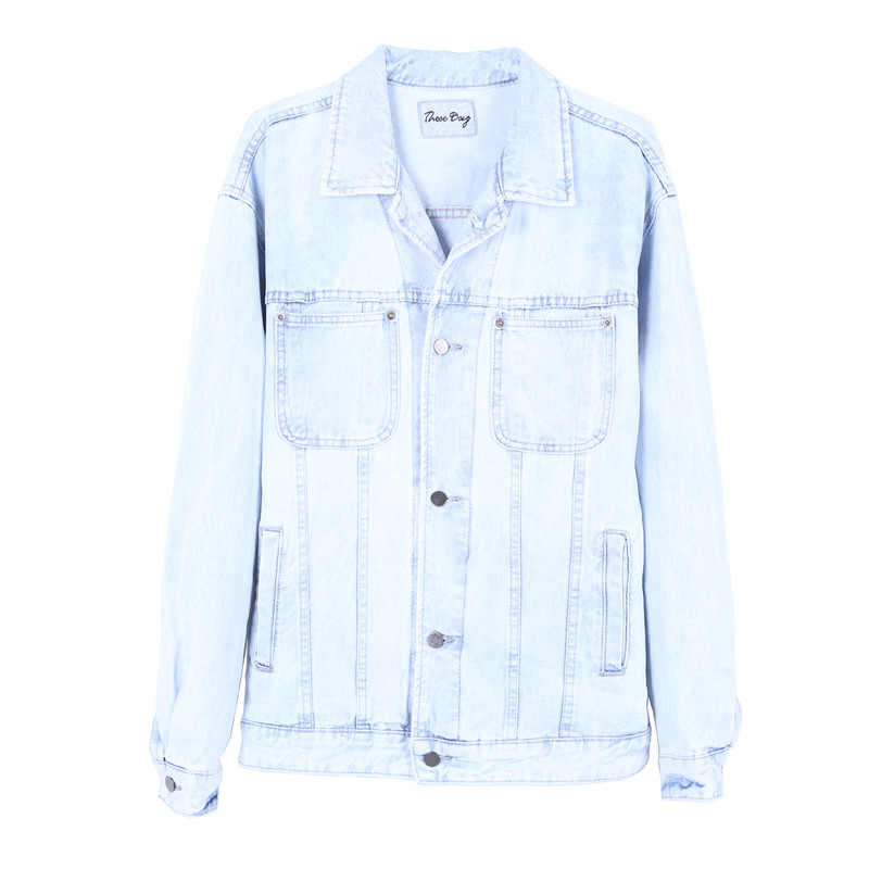 Popular Light Colored Jean Jacket-Buy Cheap Light Colored Jean ...