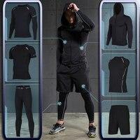 Для Мужчин's для тренировок, фитнеса Спортивная Атлетическая одежда физической тренировки костюмы бег спортивная одежда спортивный костюм ...