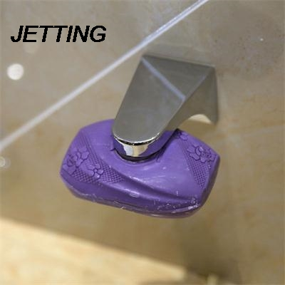 JETTING Magnetic Soap Holder Container Dispenser Wall Attachment Adhesion Soap Dishes For Home Bathroom Accessories