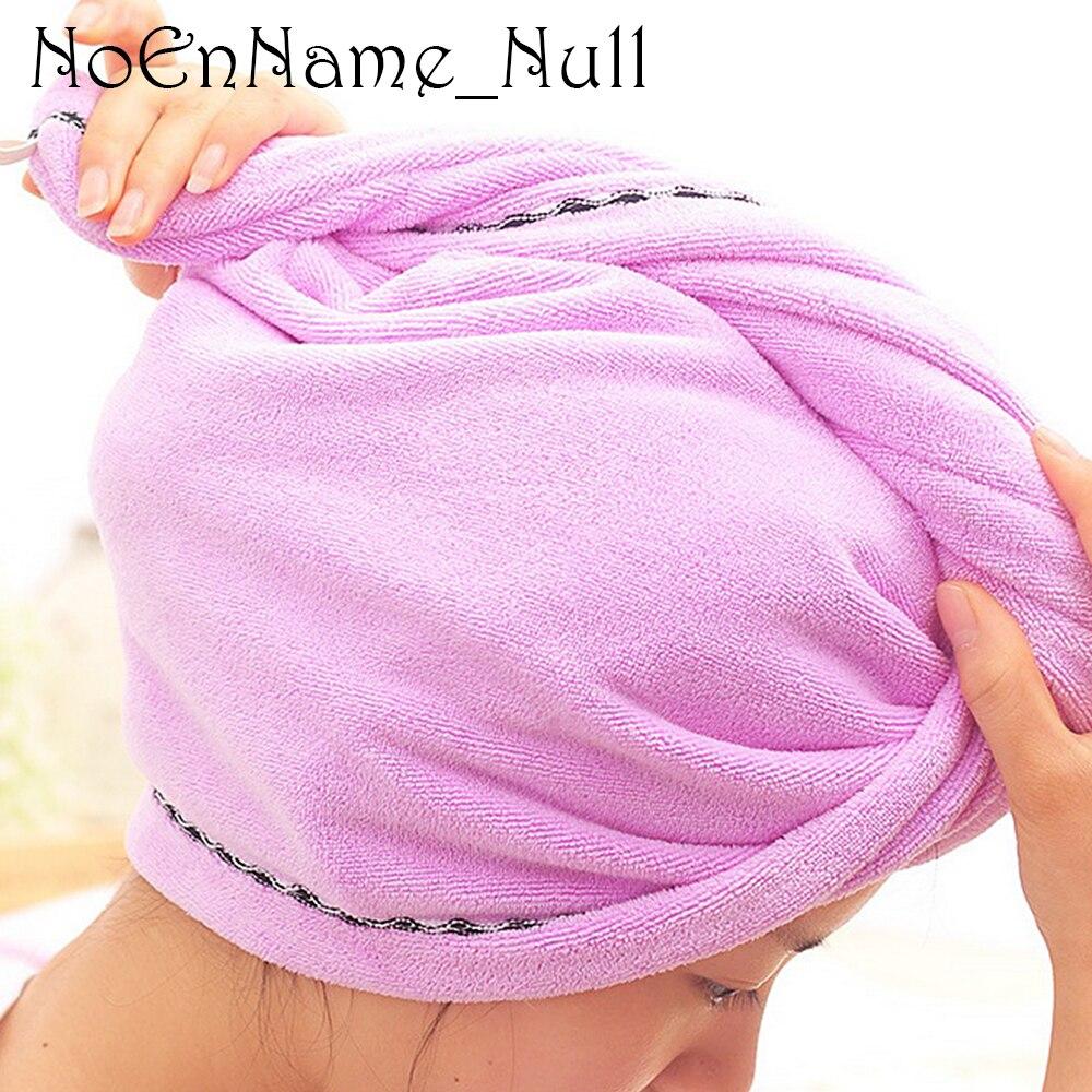 Супер абсорбуючий мікрофібра магія волосся сушіння рушник Quick Dry ванна волосся капелюх голову обгортання рушники Головна / Hotel ванна кімната для купання # 20  t