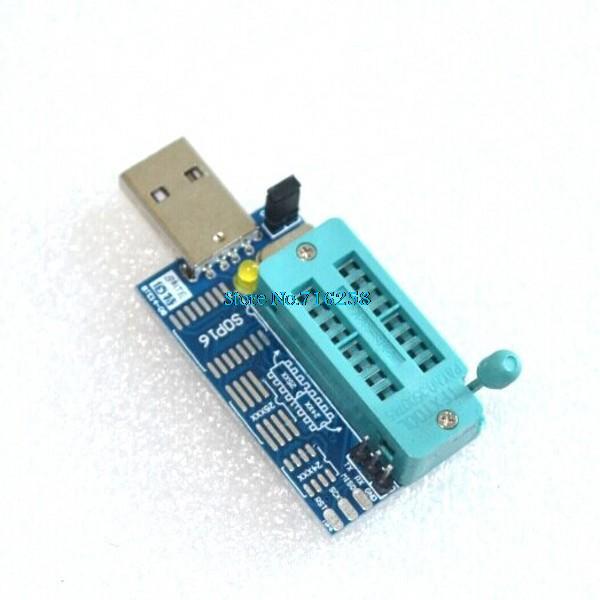 Bios Board MX25L6405 W25Q64 USB Programmer LCD Burner CH341A Progammer for  24 25 Series