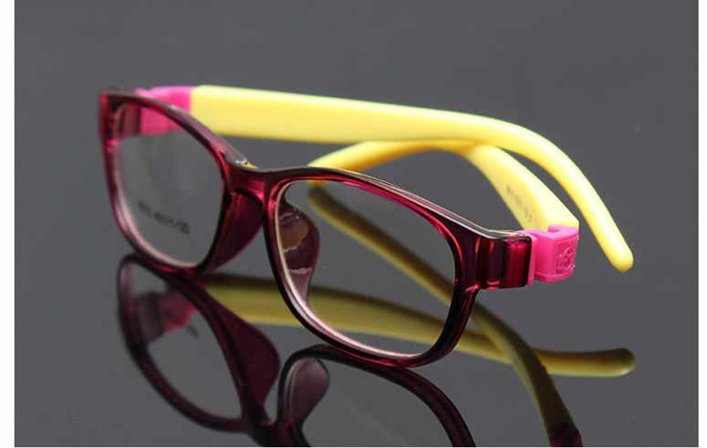 18a8b56d3a1 ... 2017 Rushed Gafas Child Glasses Frame Eyewear Kids Fashion Kid Children  Tr Optical Lense Safe Boys