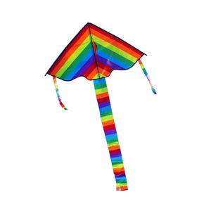 Rainbow Kite Toy Kids Outdoor