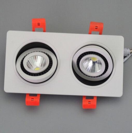 Freies Verschiffen 2 * 10W warmes kaltes weißes doppeltes PFEILER - Innenbeleuchtung