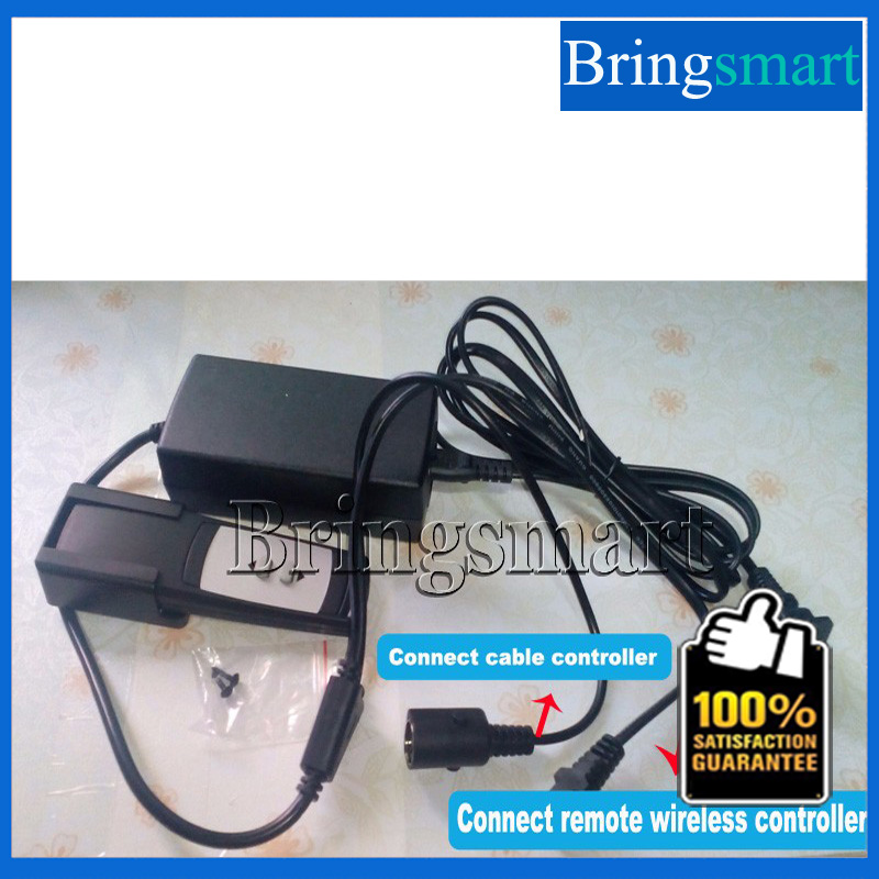 ФОТО Bringsmart AC 200-240v to  DC 24v Power supply / Power Adapter for Linear Actuator Remote Wireless Controller