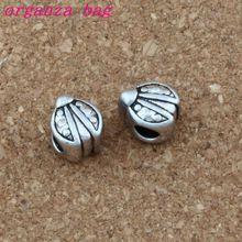 100pcs / lots Antique Silver ladybug Alloy Big Hole Bead Fit European Beads Bracelet DIY Jewelry 9x11x9mm F-010