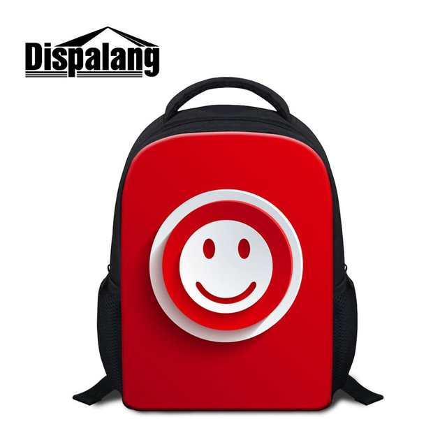 US $15.63 32% OFF|Dispalang Red Style Small Backpack Hand Icons Pattern Kids School Bags For Kindergarten Girls Boys Mini Children School Backpack in