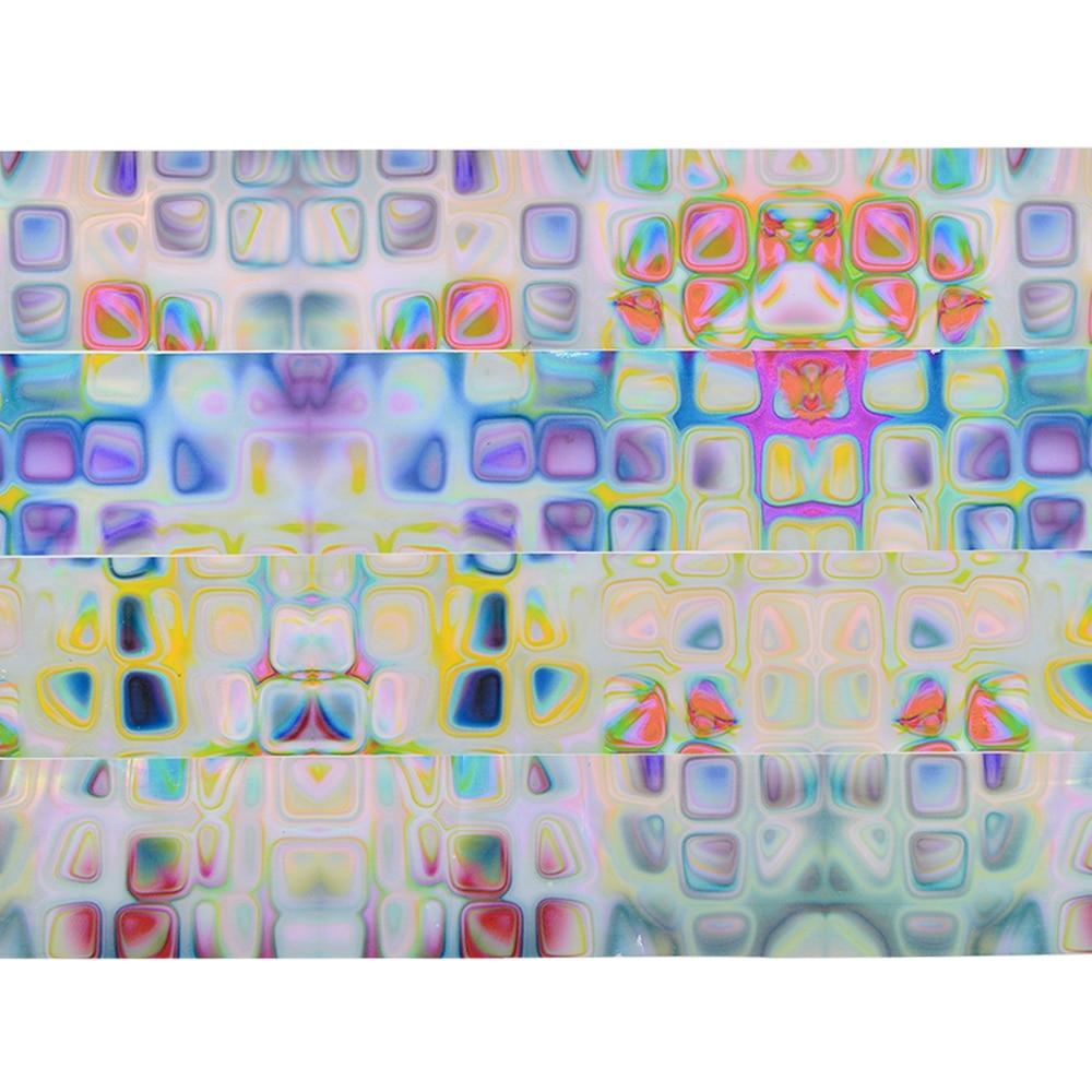 16 stücke Sternenhimmel Maze Muster Nagel Folien Nailart Transfer ...