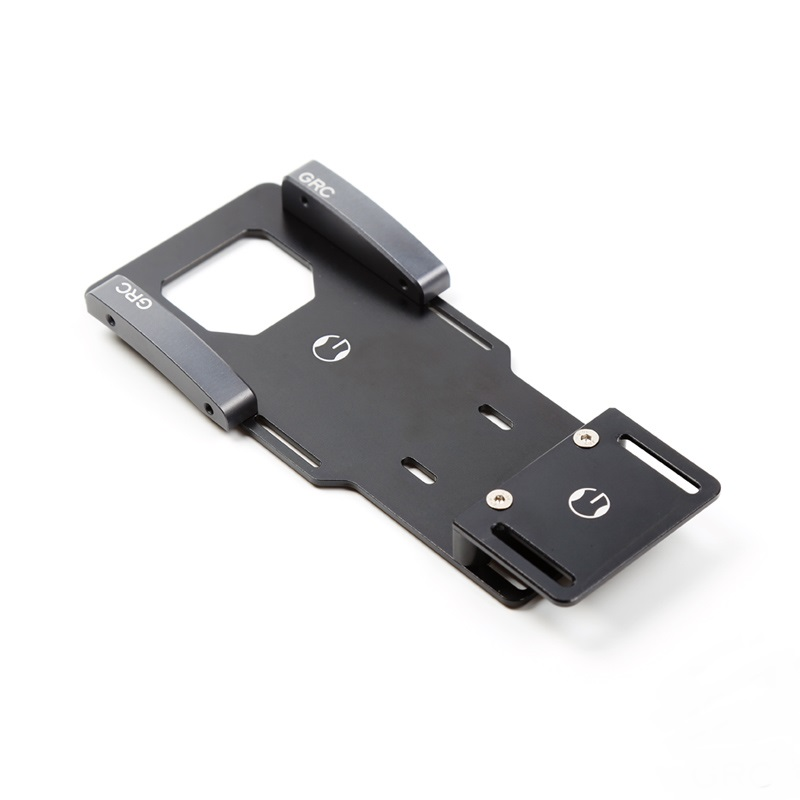 1 PCS Low Gravity Center Metal Battery Bracket for Axial SCX10 II 90046 3MM Simulation Battery expansion Board for RC Model Car injora new rc car interior decoration for 1 10 axial scx10 ii 90046 90047 cherokee body car shell
