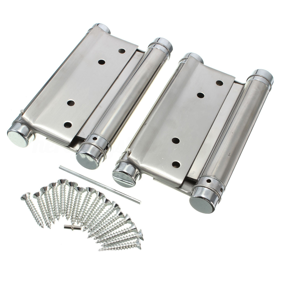 4 Spring Double 3 Action Hinges Doors