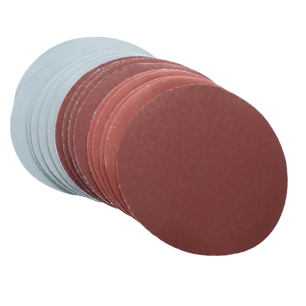 20pcs 5 Inch 1000 1500 2000 3000 Grit Sand Paper Sanding Discs Sandpaper